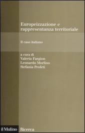 Europeizzazione e rappresentanza territoriale. Il caso italiano