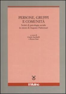 Squillogame.it Persone, gruppi e comunità. Scritti di psicologia sociale in onore di Augusto Palmonari Image