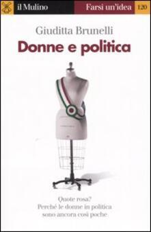 Filippodegasperi.it Donne e politica Image