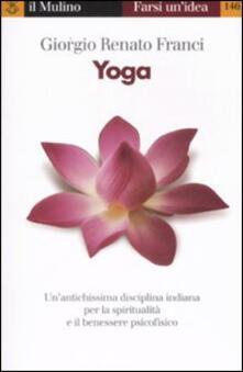 Yoga - Giorgio R. Franci - copertina