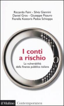 Camfeed.it I conti a rischio. La vulnerabilità della finanza pubblica italiana Image