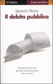 Il debito pubblico.pdf