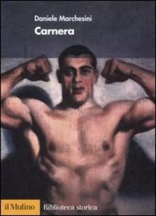 Carnera - Daniele Marchesini - copertina