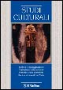 Studi culturali (2006). Vol. 1 - copertina