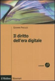 Il diritto dell'era digitale. Tecnologie informatiche e regole privatistiche - Giovanni Pascuzzi - copertina