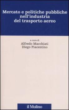 Mercato e politiche pubbliche nell'industria del trasporto aereo - copertina