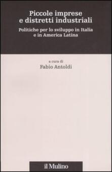 Piccole imprese e distretti industriali. Politiche per lo sviluppo in Italia e in America Latina - copertina