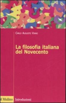 Librisulladiversita.it La filosofia italiana del Novecento Image