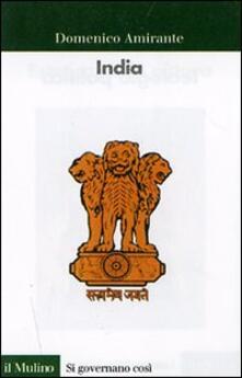 India - Domenico Amirante - copertina