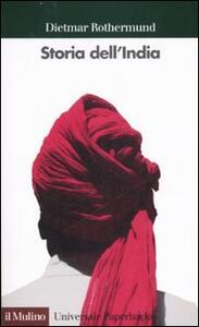 Storia dell'India - Dietmar Rothermund - copertina