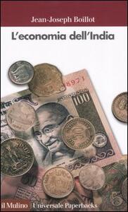 L' economia dell'India - Jean-Joseph Boillot - copertina