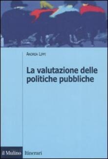 Vitalitart.it La valutazione delle politiche pubbliche Image