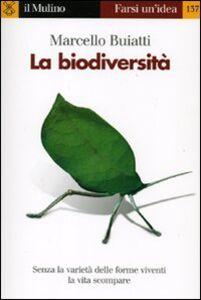 Libro La biodiversità Marcello Buiatti
