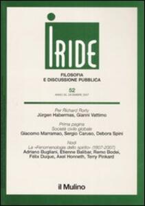 Iride (2007). Vol. 3