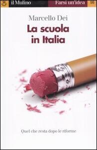 La scuola in Italia - Marcello Dei - copertina
