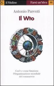 Il WTO - Antonio Parenti - copertina