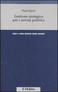 Gestione strategica per i servizi pubblici