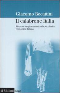 Libro Il calabrone Italia. Ricerche e ragionamenti sulla peculiarità economica italiana Giacomo Becattini