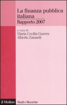 La finanza pubblica italiana. Rapporto 2007.pdf
