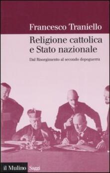 Radiospeed.it Religione cattolica e stato nazionale. Dal Risorgimento al secondo dopoguerra Image