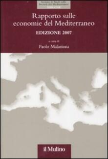 Warholgenova.it Rapporto sulle economie del Mediterraneo 2007 Image