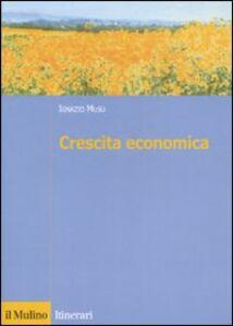Libro Crescita economica Ignazio Musu
