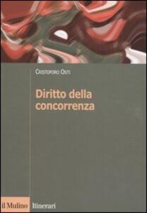Diritto della concorrenza - Cristoforo Osti - copertina