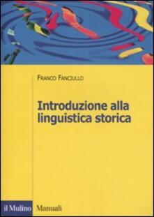 Rallydeicolliscaligeri.it Introduzione alla linguistica storica Image