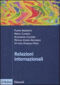 Relazioni internazionali - copertina