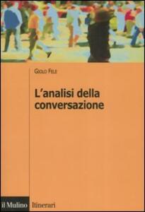 L' analisi della conversazione - Giolo Fele - copertina