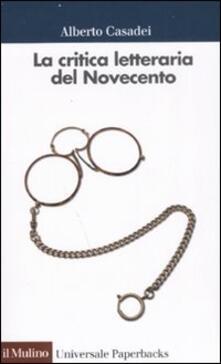La critica letteraria del Novecento.pdf
