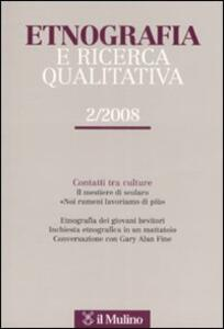 Etnografia e ricerca qualitativa (2008). Vol. 2 - copertina