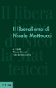 Il liberalismo di Nicola Matteucci - copertina