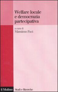 Libro Welfare locale e democrazia partecipativa