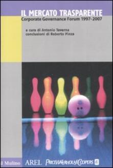 Antondemarirreguera.es Il mercato trasparente. Corporate Governance Forum (1997-2007) Image