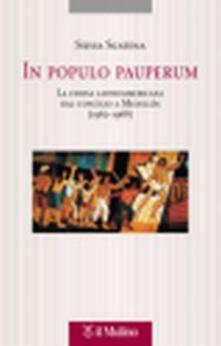 Ristorantezintonio.it In populo pauperum. La Chiesa latinoamericana dal Concilio a Medellín (1962-1968) Image