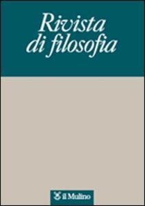 Rivista di filosofia (2008). Vol. 2 - copertina