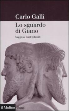 Antondemarirreguera.es Lo sguardo di Giano. Saggi su Carl Schmitt Image
