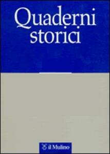 Quaderni storici (2008). Vol. 1