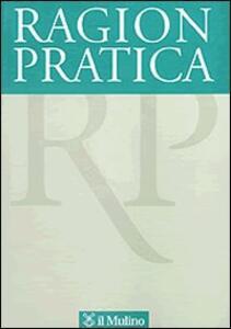 Ragion pratica (2008). Vol. 1 - copertina