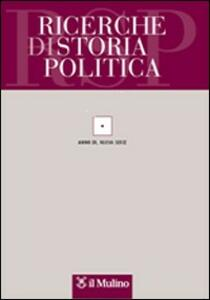 Ricerche di storia politica (2008). Vol. 2 - copertina