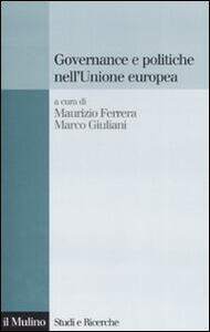 Governance e politiche nell'Unione Europea - copertina