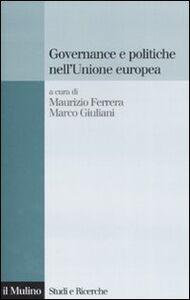 Libro Governance e politiche nell'Unione Europea