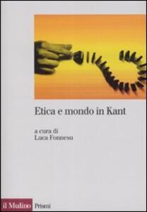 Etica e mondo in Kant - copertina