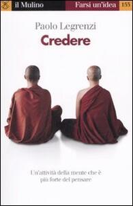 Credere - Paolo Legrenzi - copertina