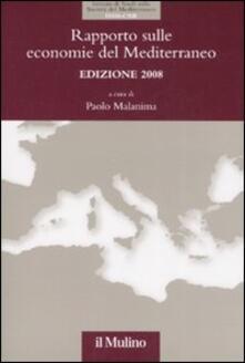 Radiosenisenews.it Rapporto sulle economie del Mediterraneo 2008 Image
