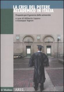 La crisi del potere accademico in Italia. Proposte per il governo delle università.pdf