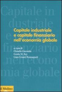 Capitale industriale e capitale finanziario nell'economia globale - copertina