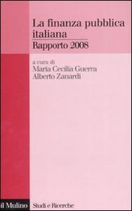 Libro La finanza pubblica italiana. Rapporto 2008