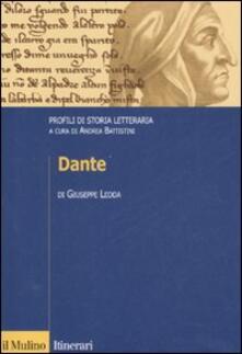 Grandtoureventi.it Dante. Profili di storia letteraria Image